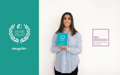 San Anastasio International School recoge el Sello Cum Laude 2020